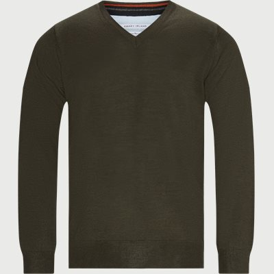 Regular | Knitwear | Army